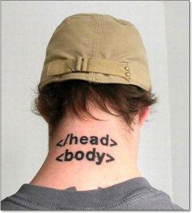 Tatuagem Geek