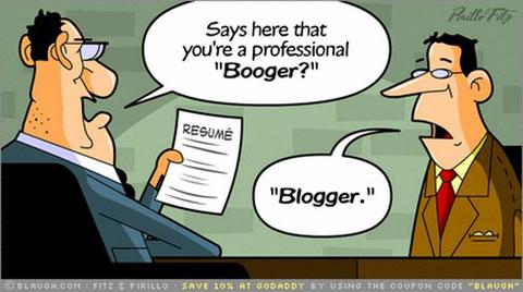 profissao blogueiro